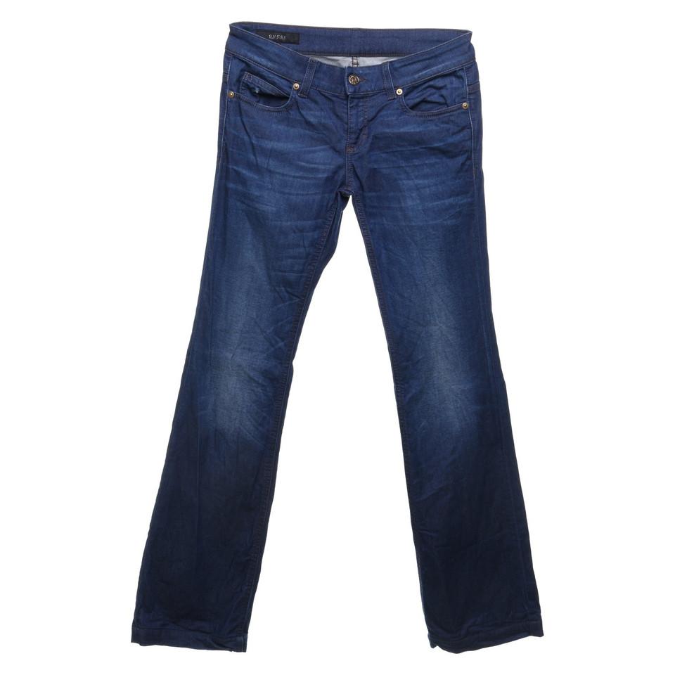 gucci jeans mit schlag second hand gucci jeans mit schlag gebraucht kaufen f r 95 00 2789114. Black Bedroom Furniture Sets. Home Design Ideas