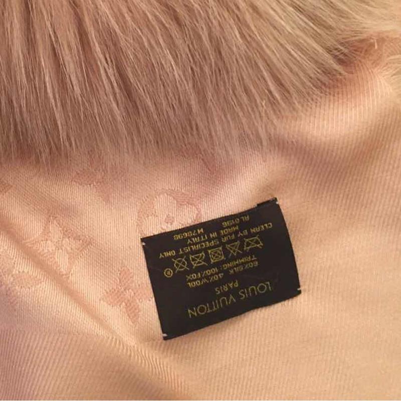... Louis Vuitton Pelz-Schal ...
