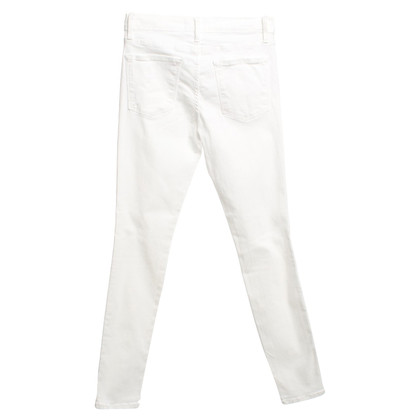 Frame Denim Jeans in White