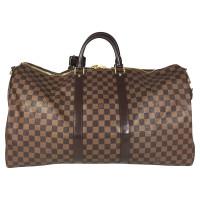 "Louis Vuitton ""Keepall 55 Damier Ebene Canvas"""
