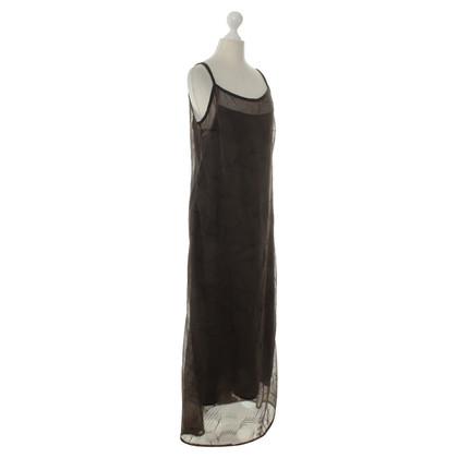 René Lezard Abendkleid in Grau