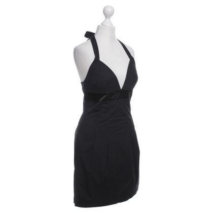 Armani Jeans black halter dress