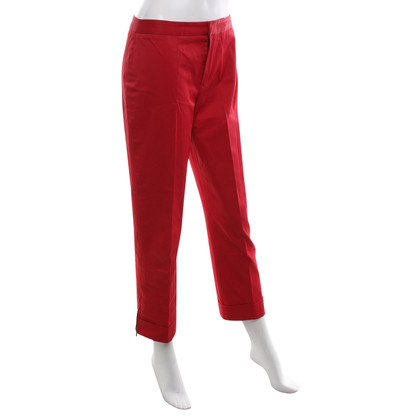 Strenesse Blue trousers in red