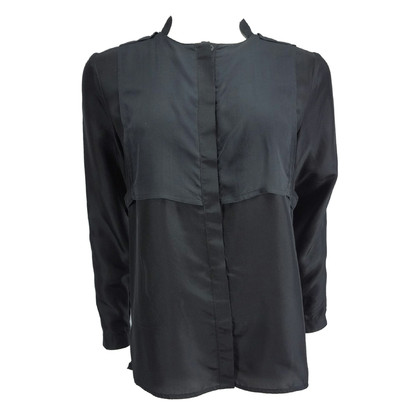 Diesel Black Gold Black silk blouse