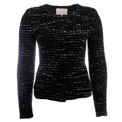 Iro black boucle blazer