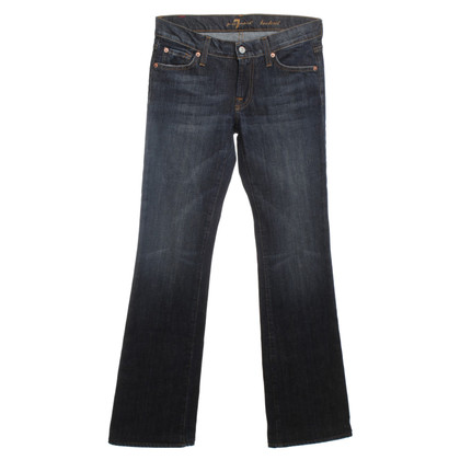 7 For All Mankind Dark blue 5-Pocket jeans