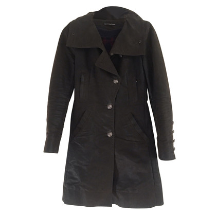 Drykorn Waxed short coat Barbour-style