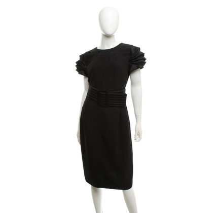 Chanel Silk dress in black