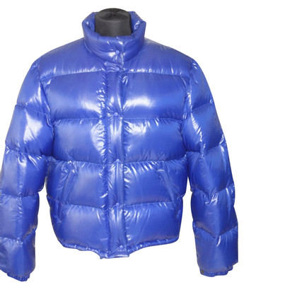 Moncler Donsjack in royal blue