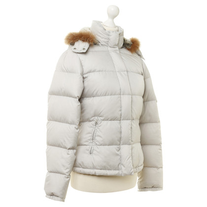 Closed Down coat with fur hood