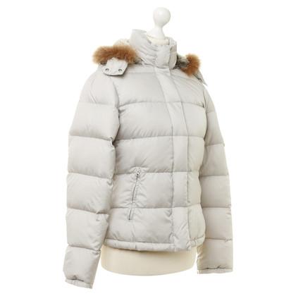 Closed Piumino con cappuccio di pelliccia