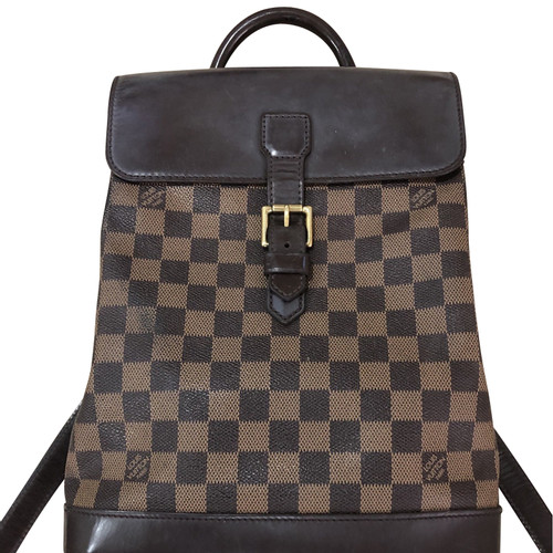 d6912151ef08 Louis Vuitton Backpack Leather in Brown - Second Hand Louis Vuitton ...