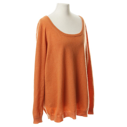 Aida Barni Kaschmir-Pullover in Orange