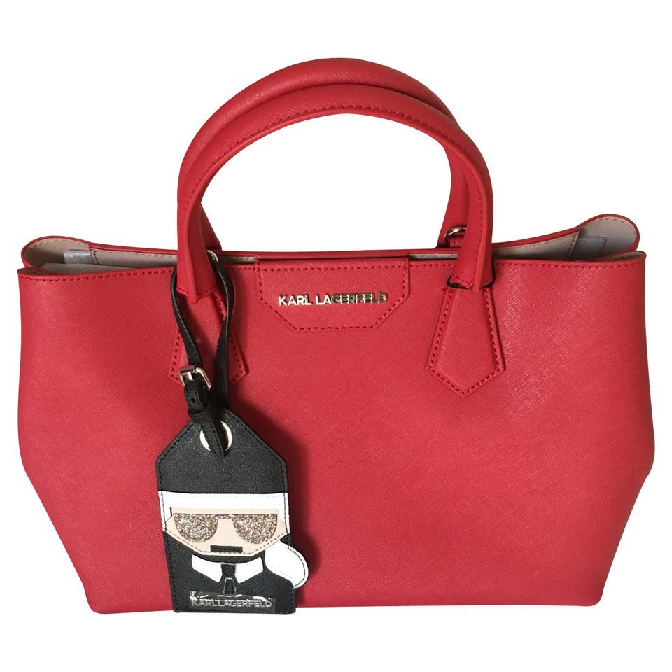 karl lagerfeld handtasche second hand karl lagerfeld handtasche gebraucht kaufen f r 168 00. Black Bedroom Furniture Sets. Home Design Ideas