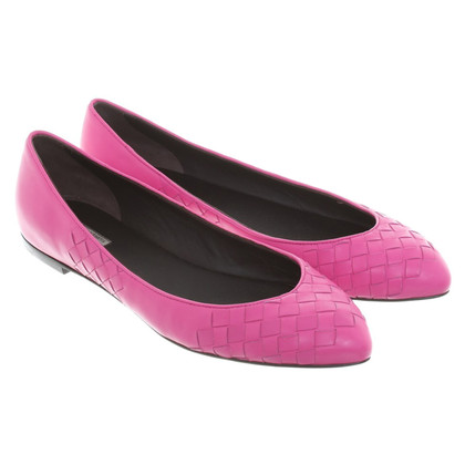 Bottega Veneta Ballerinas in Pink