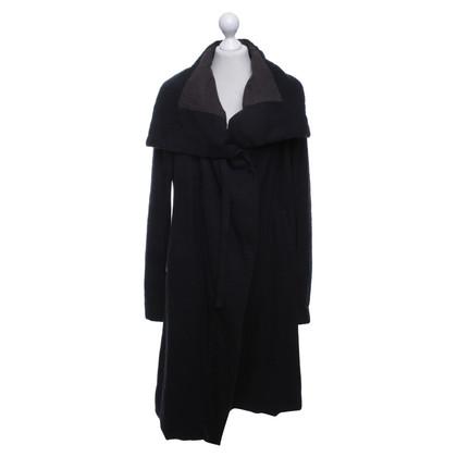 Rick Owens Coat in zwart