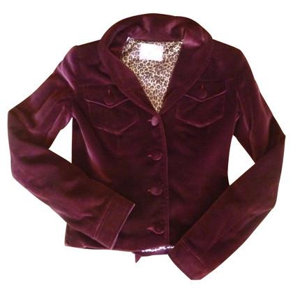 Blumarine giacca di velluto