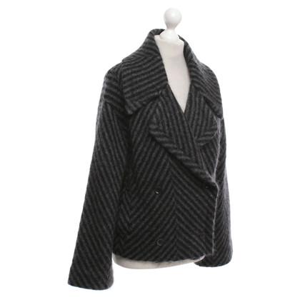 Gucci Jacket in zwart / grijs