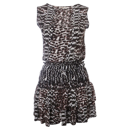 Maje Black and white dress