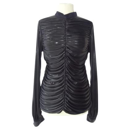 Chanel geplooide blouse