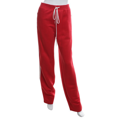 Chloé trousers in red