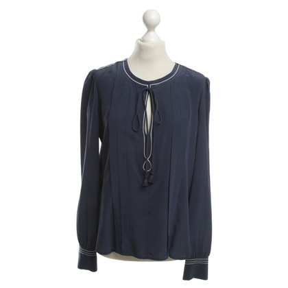 See by Chloé Silk blouse in Blue