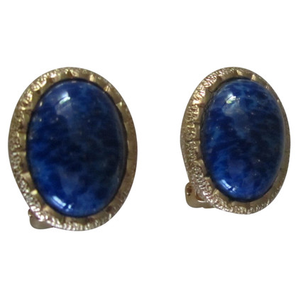 Christian Dior Blue stone earrings