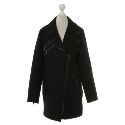 Drykorn Short coat in black