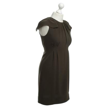 Prada Kleid in Olivgrün