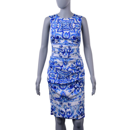 Dolce & Gabbana Dress with majolica print