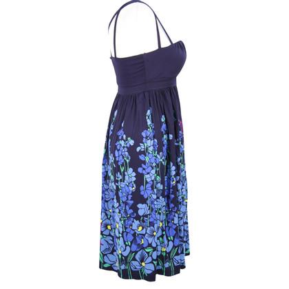 Karen Millen Floral dress in dark blue