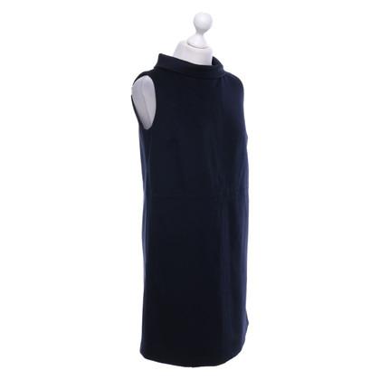 Hobbs Wool dress in dark blue