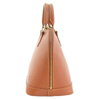 Louis Vuitton Alma Brown Kenyan Fawn Epi Hand Bag