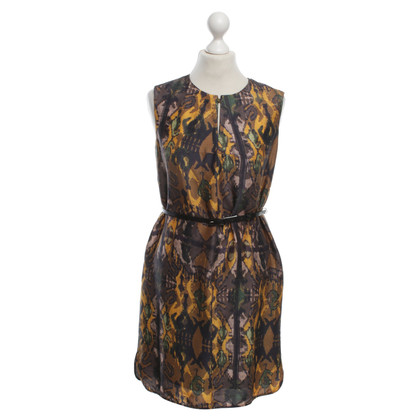 Hugo Boss Silk dress with pattern