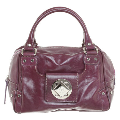 Etro Leather bag in purple