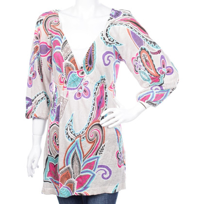 Set Tunic with floral pattern