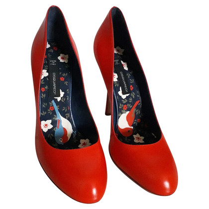 Dsquared2 pumps in rood