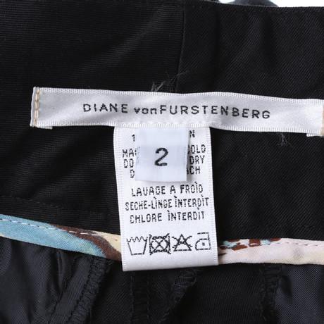 Diane von Furstenberg Hose in Schwarz Schwarz Rabatt Finish Billig Verkauf Sast Auslauf Footlocker Online Eastbay Günstig Online 2EKpZPpV
