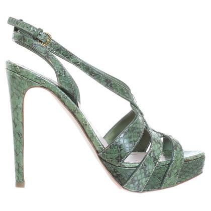 Miu Miu Sandals in green