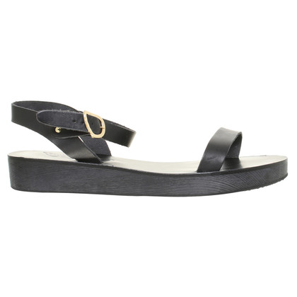 Ancient Greek Sandals Sandali in nero