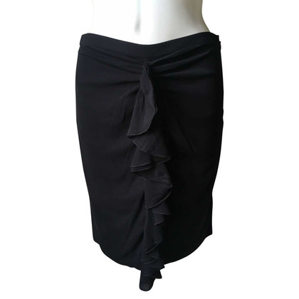 Versace skirt with valance