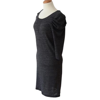 Sandro Abito in maglia grigio