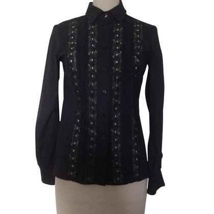 Red Valentino Shirt with frills / lace