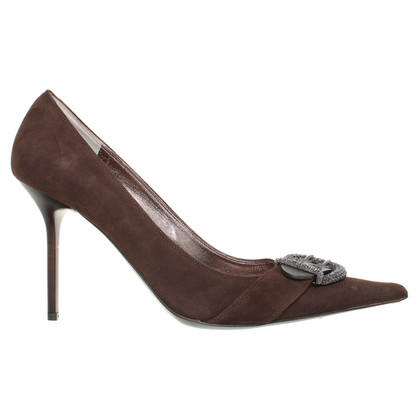 Gianmarco Lorenzi Pumps in Braun