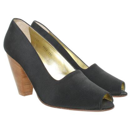 Walter Steiger Peep-toes in black