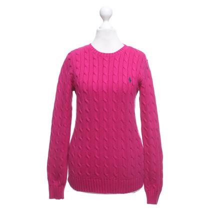 Ralph Lauren Sweater in fuchsia