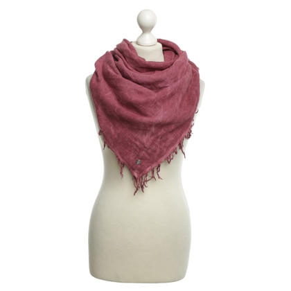 Boss Orange Doek in fuchsia