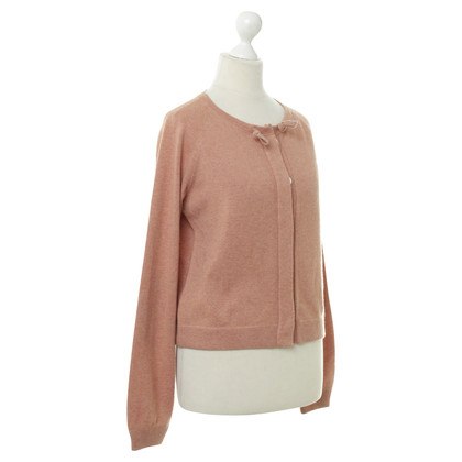 Brunello Cucinelli Strickjacke in Lachsfarben