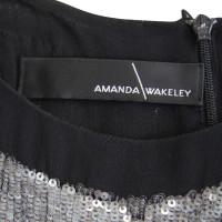 Amanda Wakeley Maxi robe en soie