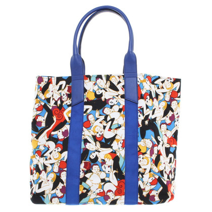 Carolina Herrera Beach bag with motif-print